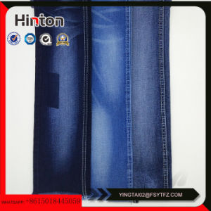 16s Polyester and Viscose Slub Denim Fabric Hotsale pictures & photos