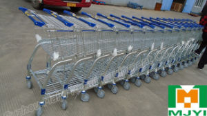 Building Materials Supermarket Warehouse Logistics Platform Shopping Trolley pictures & photos