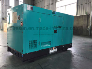 Cummins Engine Silent Generating Set 60 kVA Electric equipment Low Noise Type pictures & photos