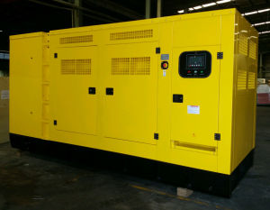 Cummins Water Cooled Soundproof Diesel Generator Set pictures & photos