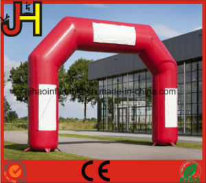 Custom Red Cheap Inflatable Arch with Logo for Sale pictures & photos