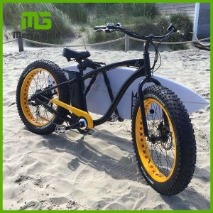 500W High Power Fat Tyre Beach Cruiser E Bicycle pictures & photos