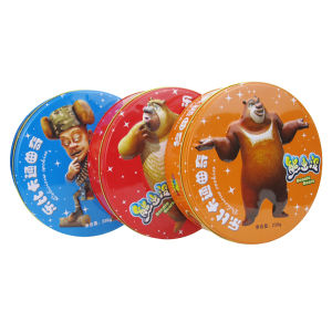 Import China Goods Package Tin Box Round Shaped pictures & photos