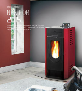 2015 Special Design Electric Wood Pellet Stove pictures & photos