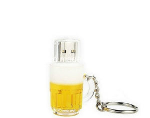 128g Mini USB Disk Pendrive Beer Cup USB Flash Drive pictures & photos
