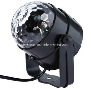 Mini Disco Party Light LED RGB Crystal Magic Ball Light pictures & photos