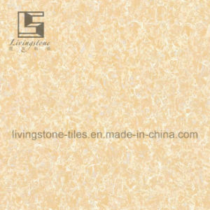 Yellow Color Pulati Polished Porcelain Tiles pictures & photos