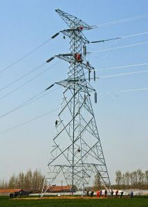 Carbon Steel Transmission Line Iron Tower pictures & photos