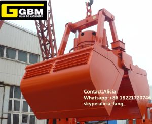 Clamshell Electric Motor Hydraulic Grab pictures & photos