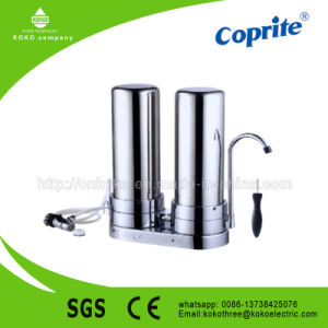 Newest 304# Stainless Steel 2 Stage Water Filter (KK-SA2) pictures & photos