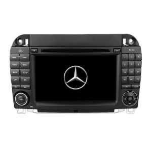 Car Navigation system with DVD Bt Radio TPMS Camaera DVR 1080P for Benz S Series