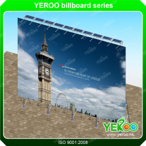 Solar Power Flex Banner Billboard-Outdoor Billboard Frame-Advertisement Display pictures & photos