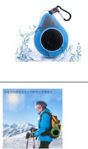 PS1 Patent Waterproof Bluetooth Speaker Ce RoHS Bqb pictures & photos
