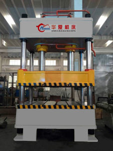 Hole Shape Punching Press Machine with Four Pillar pictures & photos