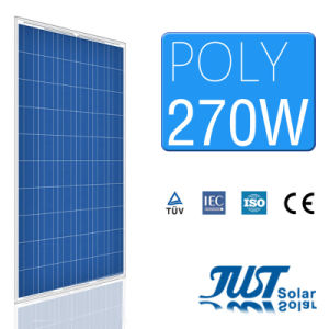 270W Poly Solar Panel with High Efficiency with Ce CQC and TUV Certification