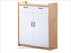 Two Doors Furniture Sets Melamine Cabinet (HX-LS027) pictures & photos