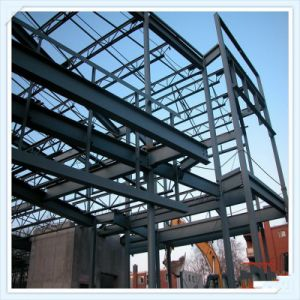 China Steel Structure Design Prefabricated Building Material Steel Frame pictures & photos