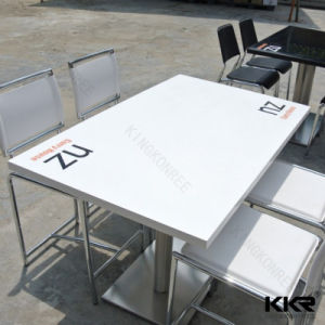 Commercial Custom Dining Tables with Printed Logo pictures & photos