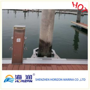 Good Price High Quality Aluminum Pile Holder for Yacht/Dock pictures & photos