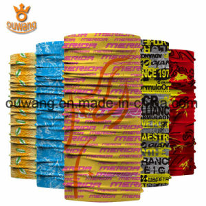 Factory Direct Sale Newest Style Multifunctional Print Logo Microfiber Sports Bandana pictures & photos