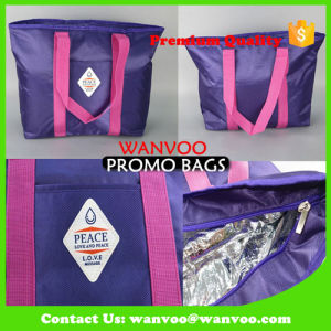 Oxford Custom Travel Picnic Food Bag Insulated Lunch Tote Cooler Handbag with Large Capacity pictures & photos