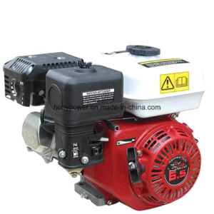 5kw Single Phase Portable Electric Gasoline Generator pictures & photos