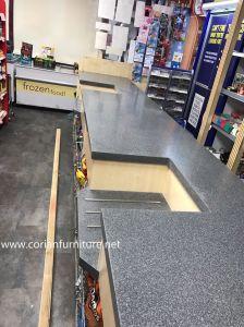 Corian Shop and Retail Cashier Counter Desk pictures & photos