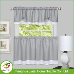 Black and White Kitchen Curtains Fabric and Valances pictures & photos