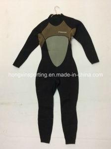 Men′s Long Neoprene Surfing Wetsuit (HX15L66) pictures & photos