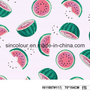 Watermelon Knitted Print 80%Polyamide 20%Elastane Fabric for Swimwear pictures & photos