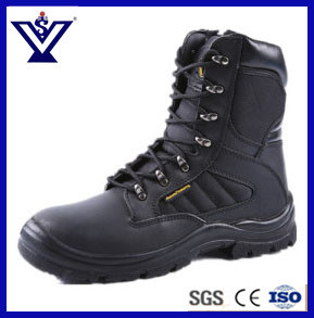Black Military Army Tactical Safety Boots (SYSG-201757) pictures & photos
