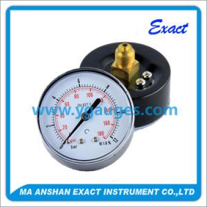 Black Steel Case Pressure Gauge - Pressure Measurement pictures & photos