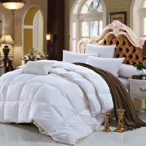 OEM Double Full Comforter Sets Cheap for 5 Star Hotel pictures & photos