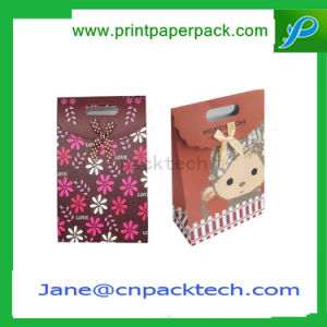 Custom Printed Handbags Fashion Paper Bag Carrier Shopping Bag Gift Confectionery Bag pictures & photos