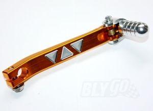 Gold CNC Heavy Duty Gear Lever Shifter Handle 110cc 125cc Pit PRO Quad Dirt Bike