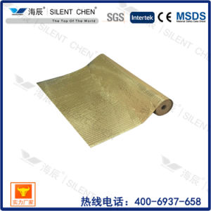 Rubber Roll with Gold Aluminum Film Sound-Absorbing Underlay pictures & photos