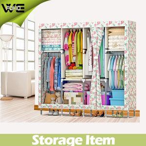 DIY Portable Wardrobe Living Room Furniture Cloth Wardrobe pictures & photos