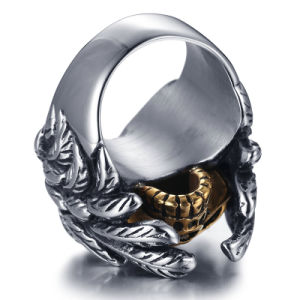 Titanium Stainless Steel Fashion Designer Man Rings Jewelry pictures & photos