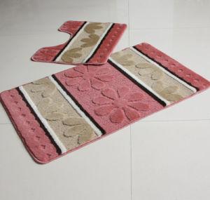 Non-Slip Base Bathroom Set 2 PCS Floor Mat pictures & photos