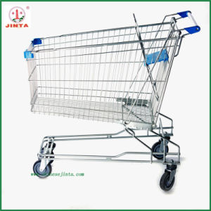 Chain Retail Store Folding Shopping Trolley (JT-EC16) pictures & photos
