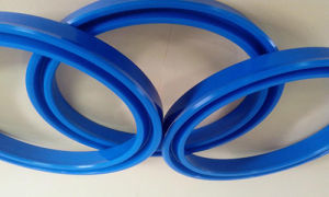 Heat Resistant PU Silicone Rubber Dust Proof U V Y Shape Lip Dynamic Rod Seal Ring pictures & photos