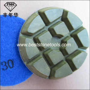 Soft Concrete Floor Dry Polishing Pad for Diamond Tools