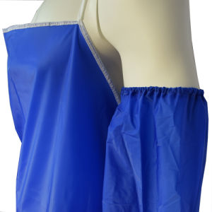 Waterproof PVC Apron, Promotional Apron for Kitchen Use pictures & photos