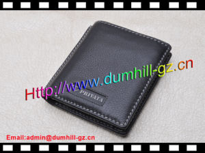 Fashion Genuine Leather Branded Small Men Wallet pictures & photos