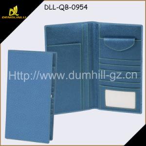Long Design Blue Color Organizer Checkbook Wallet