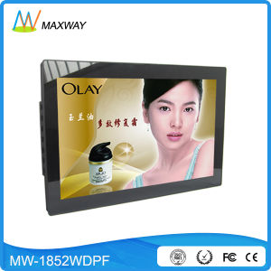 Made in China 19 Inch Wall Mount Digital Frame with MP3 MP4 Video Loop pictures & photos