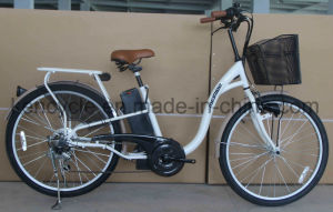 "26"" Cheap Bicicleta Electrica for Supermarket, 250W Eco-Friendly E Bike/City E-Bike (SY-E2628) pictures & photos"