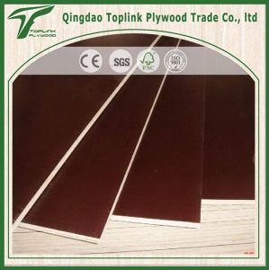 17 /18mm Cheap Brown and Black Film Faced Shuttering Plywood for Construction From Linyi pictures & photos