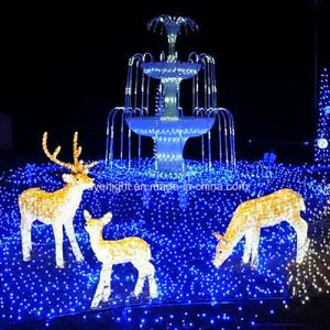 Holiday Newly Craft Park Light Show LED Deer Christmas Lights pictures & photos