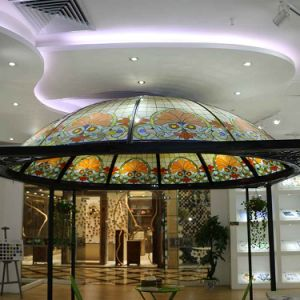 Huge Garden Gazebo Stained Glass Building Dome pictures & photos